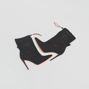 Heron Preston WMNS Neoprene Bootie - Bordeaux / Black Image 2