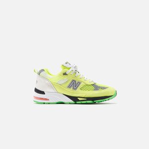 New Balance x Aries Arise WMNS Made in UK 991 - Neon Yellow / Silver / White