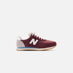 New Balance COMP 100 - Burgundy / Wax Blue Image 1