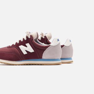New Balance COMP 100 - Burgundy / Wax Blue Image 5