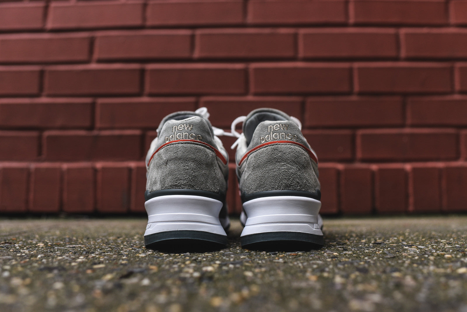 New Balance M997 - Grey / Orange