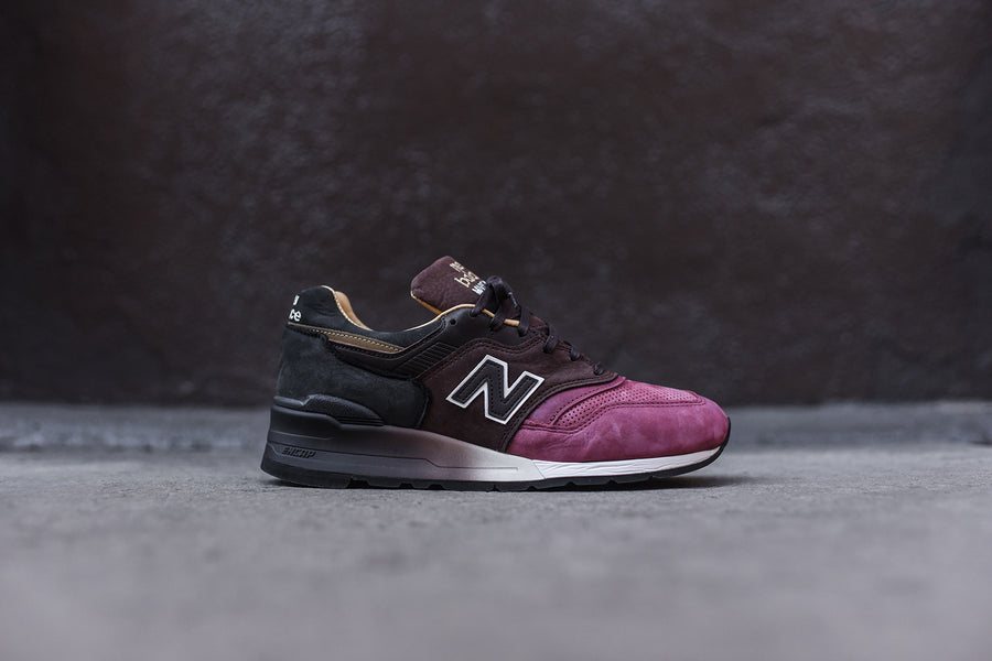 New Balance M997 - Burgundy / Brown / Black