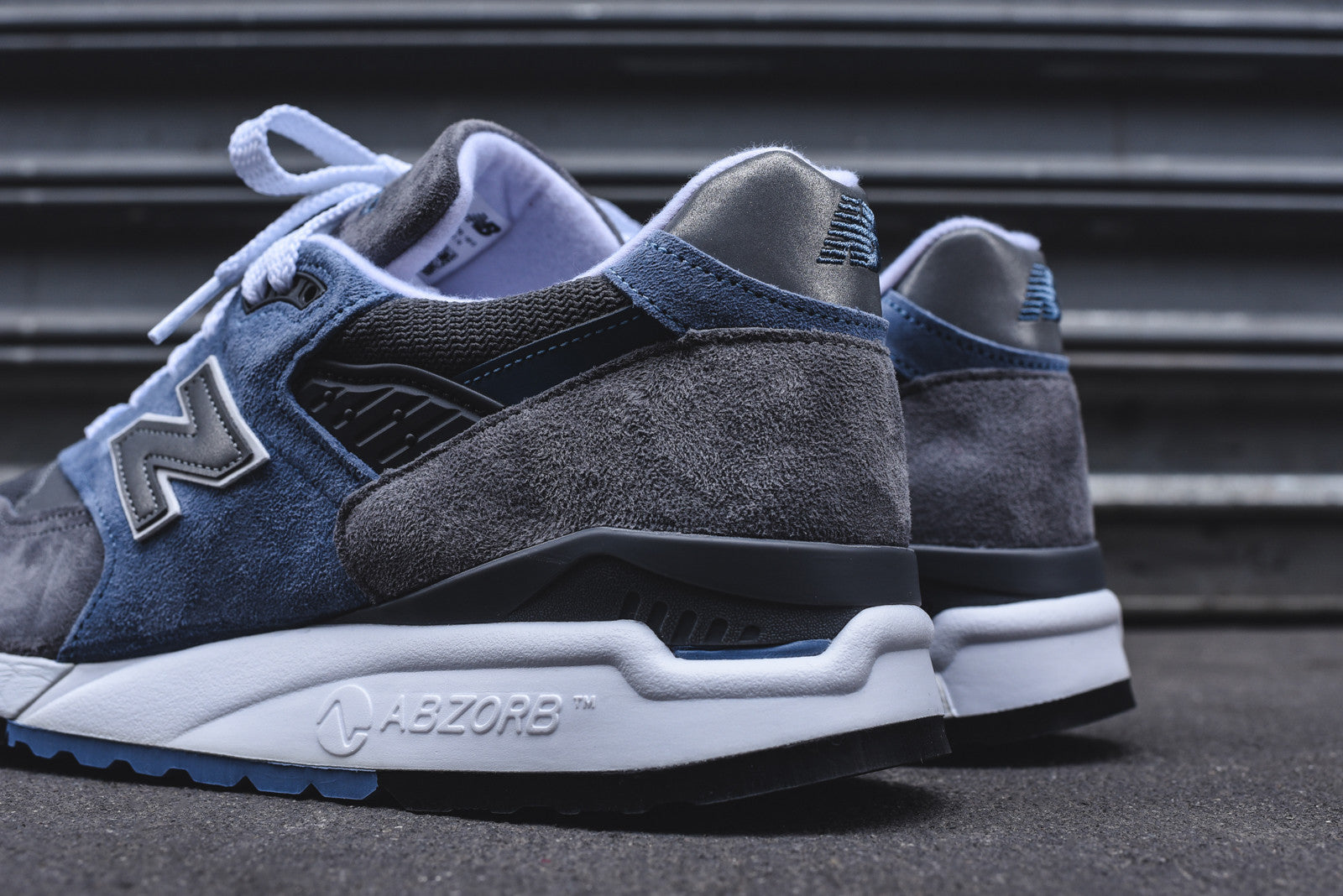 New Balance Grey Light Blue