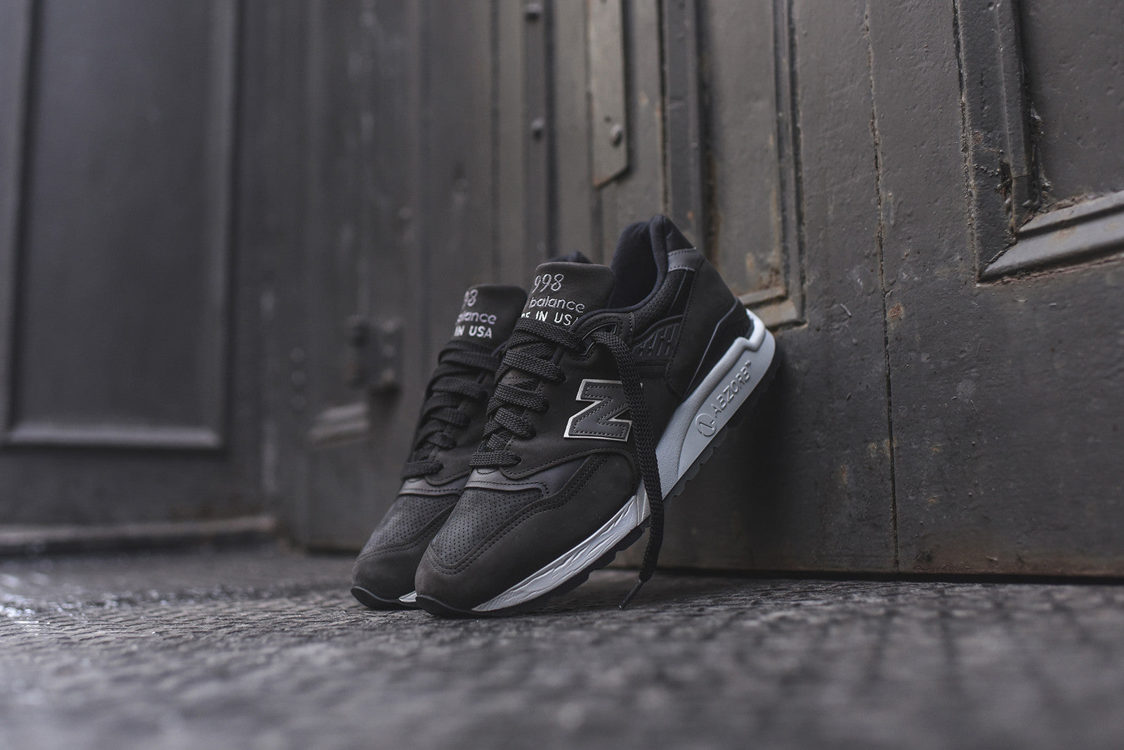 New Balance M998 Distinct - Black / Grey