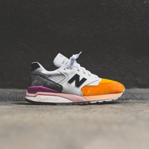 purchase cheap 33737 80ca7 New Balance 998 - Orange / Grey – Kith