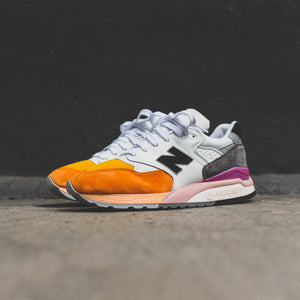 purchase cheap 08e1d 49393 New Balance 998 - Orange / Grey – Kith