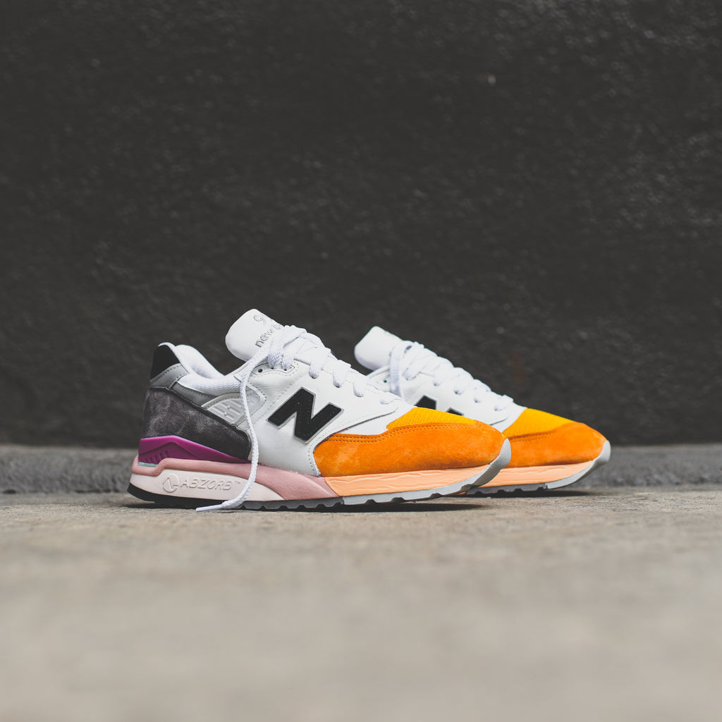 pretty nice a6c82 29702 New Balance 998 - Orange / Grey