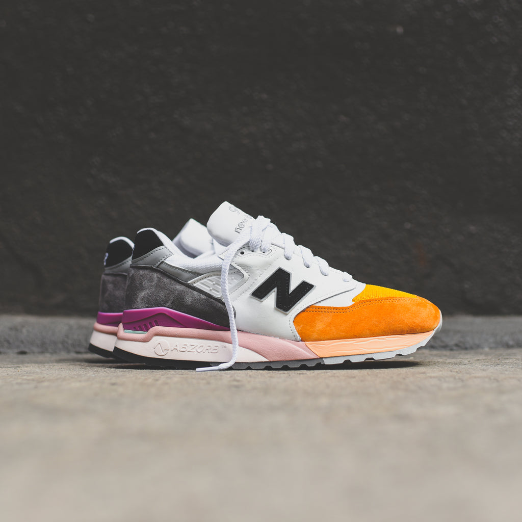 pretty nice 8e7b5 706d4 New Balance 998 - Orange / Grey