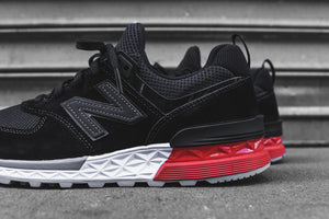 low priced 2bf2c 26153 New Balance 574 Sport - Black / Red – Kith