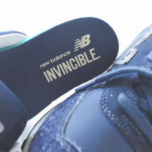 new arrivals f9505 933a0 New Balance Invincible ML574 - Navy – Kith