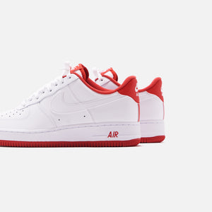 Nike Air Force 1 '07 Low - White / University Red Image 5