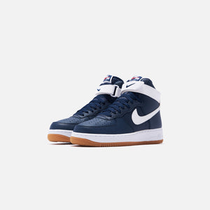 Nike Air Force 1 High '07 - Obsidian / White Red / Orbit White