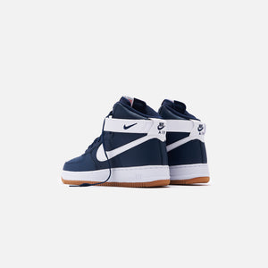 Nike Air Force 1 '07 High - Obsidian / White Red / Orbit White