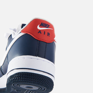 Nike Air Force 1 '07 LV8 Low - Obsidian / White / University Red Image 4