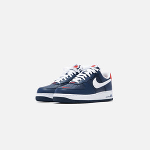 Nike Air Force 1 '07 LV8 Low - Obsidian / White / University Red Image 2