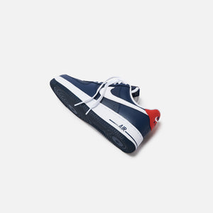 Nike Air Force 1 '07 LV8 Low - Obsidian / White / University Red Image 3