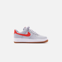 Nike Air Force 1 '07 LV8 Low - Wolf Grey / University Red / White Gum Thumbnail 1