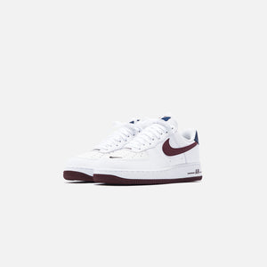 Nike Air Force 1 '07 LV8 - White / Night Maroon / Obsidian