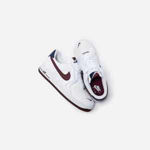 Nike Air Force 1 '07 LV8 White Night Maroon Obsidian