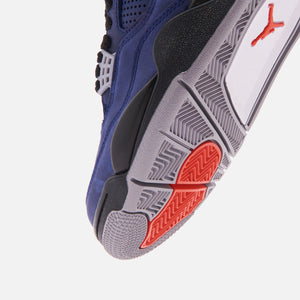 Nike Air Jordan 4 Retro Winter - Loyal Blue / Black / White / Habanero Red