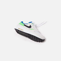 Nike Air Max 1 DNA - White / Black / Royal Blue / Scream Thumbnail 1