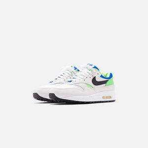 Nike Air Max 1 DNA - White / Black / Royal Blue / Scream Image 3