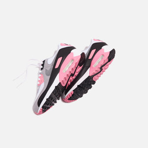 Nike WMNS Air Max 90 - White / Particle Grey / Rose Image 3