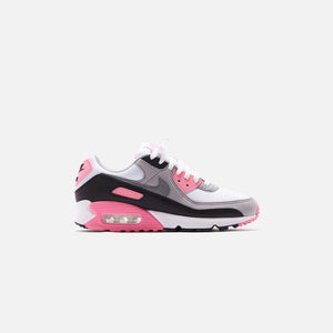 Nike WMNS Air Max 90 - White / Particle Grey / Rose Image 1