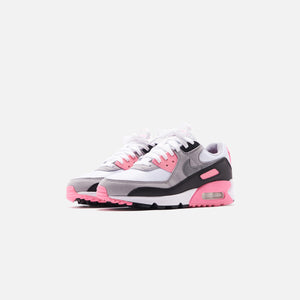Nike WMNS Air Max 90 - White / Particle Grey / Rose Image 2