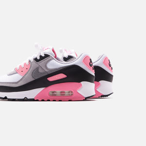 Nike WMNS Air Max 90 - White / Particle Grey / Rose Image 5