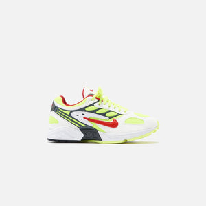 Nike Ghost Racer - White / Atom Red / Neon Yellow / Dark Grey / Gym Red