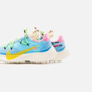 Nike x Off-White WMNS Vapor Street - Polarized Blue / Tour Yellow
