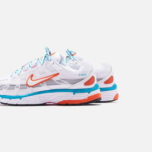 Nike WMNS P-6000 - White / Oracle / Aqua / Magic Flamingo