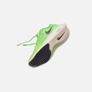 Nike ZoomX Vaporfly Next% - Electric Green / Black / Guava Ice