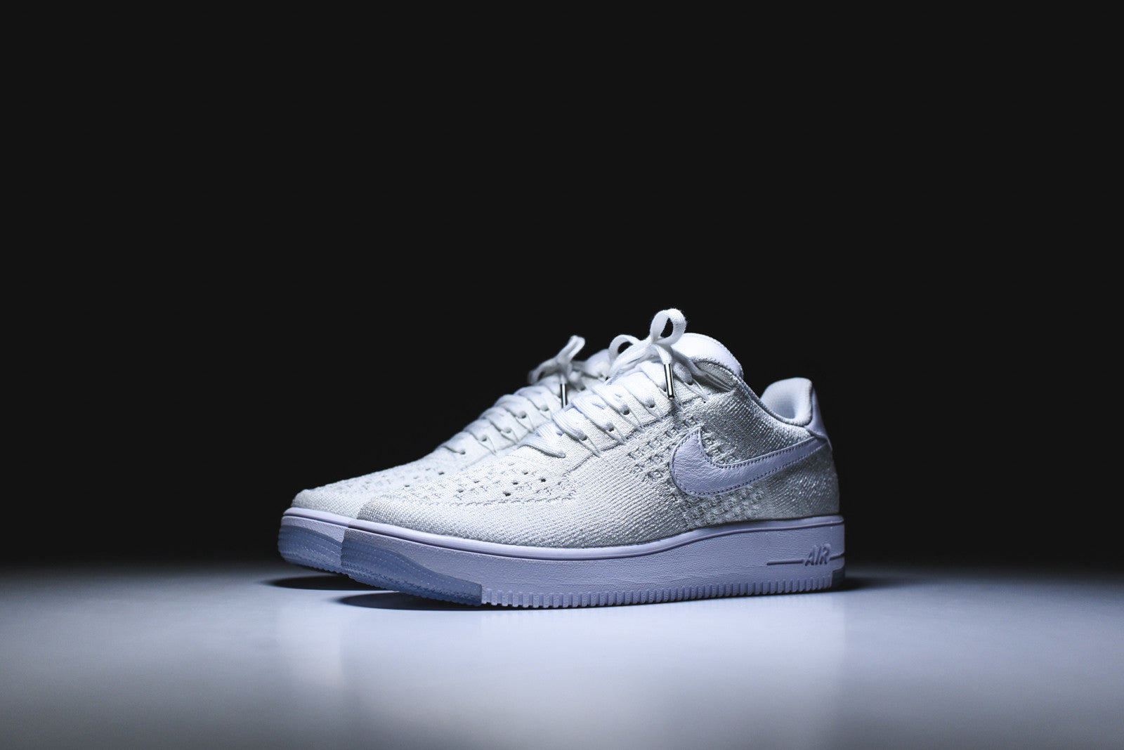 Nike WMNS Air Force 1 Flyknit Low - Triple White
