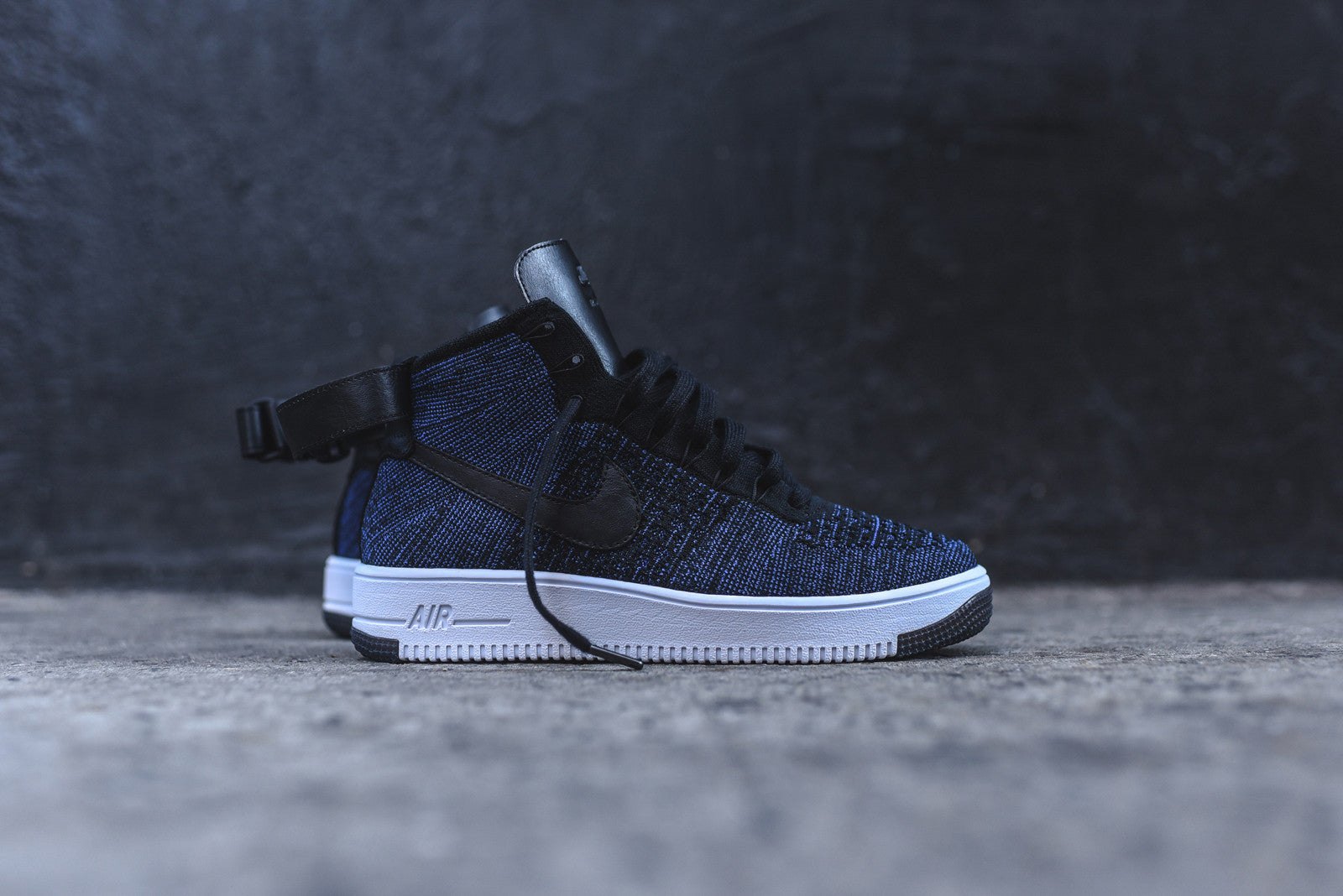 Nike Air Force 1 Ultra Flyknit Mid Game Royal/Black