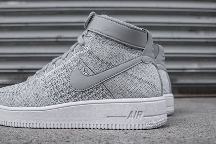 Nike Air Force 1 Ultra Flyknit Mid - Grey
