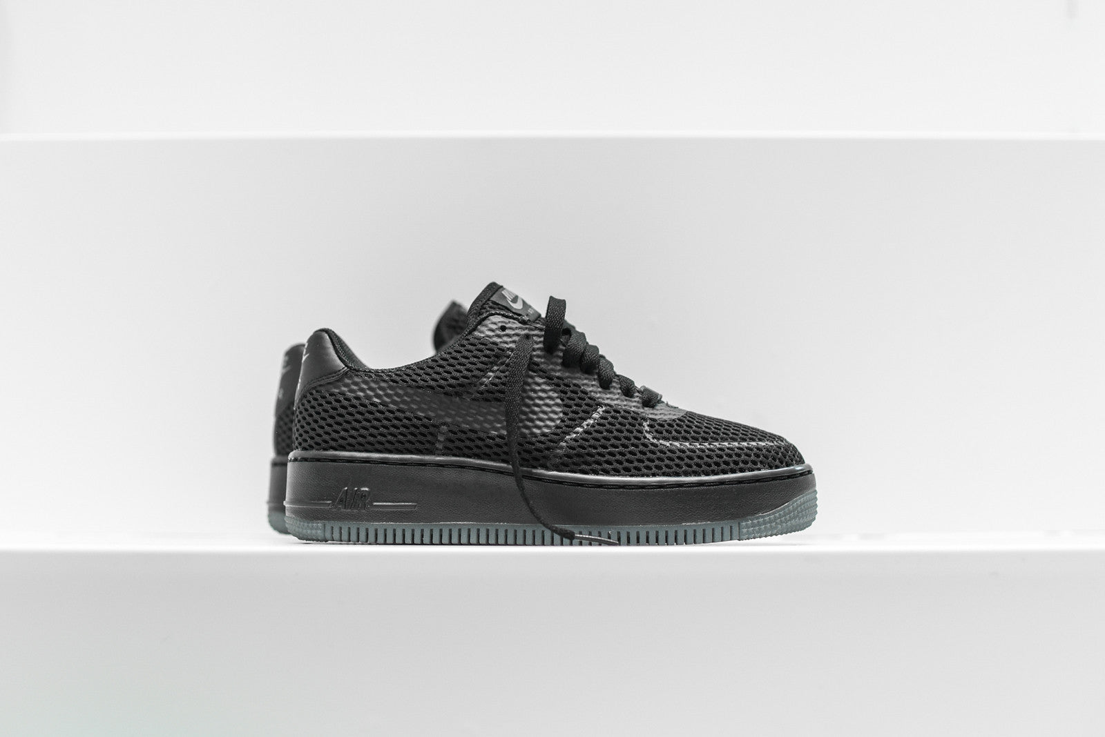 Nike WMNS Air Force 1 Low Upstep BR - Black