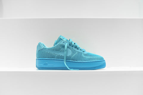 Nike WMNS Air Force 1 Low Upstep BR - Gamma Blue