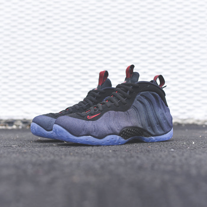 f6d5ed350586f wholesale nike air foamposite 1 obsidian black university red d4d6d a16ee