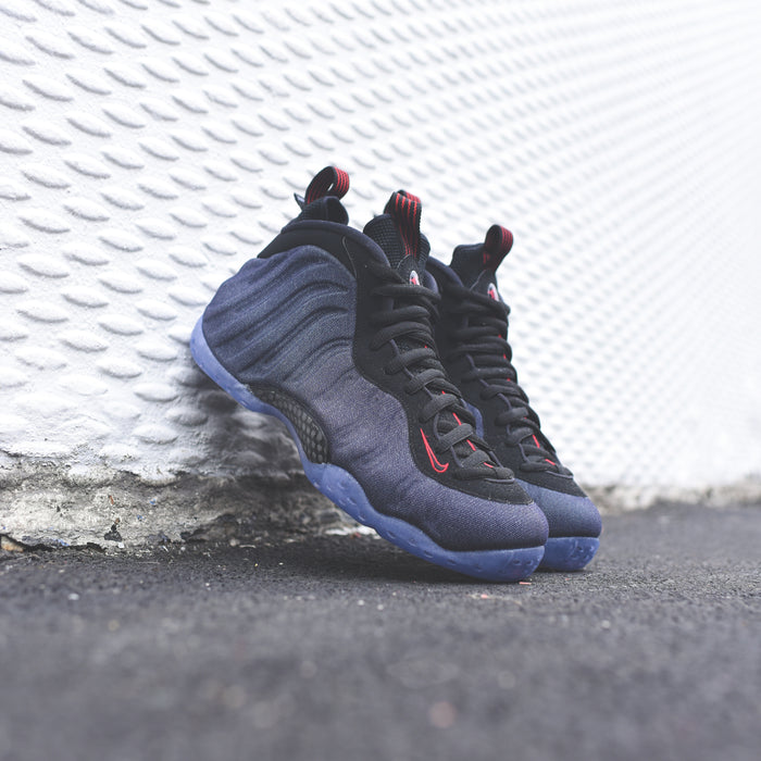 101b8f2e27 ... Nike Air Foamposite 1 - Obsidian / Black / University Red ...