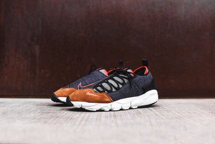 Nike Air Footscape NM - Obsidian / Orange / White