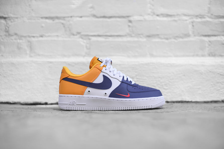 Nike Air Force 1 LV8 - Blue / White / Yellow