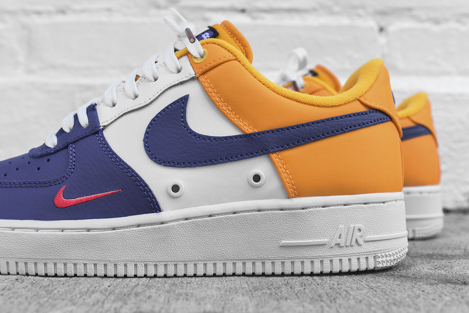 purchase cheap 80998 c8429 ... discount nike air force 1 lv8 blue white yellow b673a 89b7f