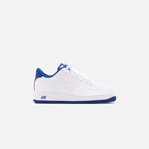 Nike Air Force 1 '07 Low - White / Deep Royal – Kith