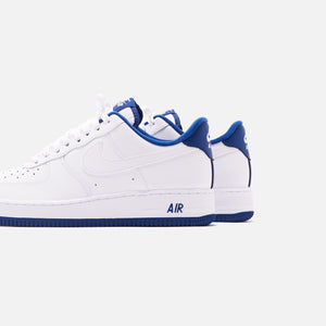 Nike Air Force 1 07 Low White Deep Royal Kith