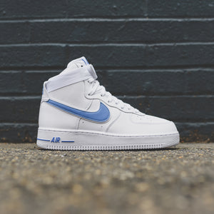 Air 3 Force '07 Photo Nike 1 White Blue High rCshdtxQ