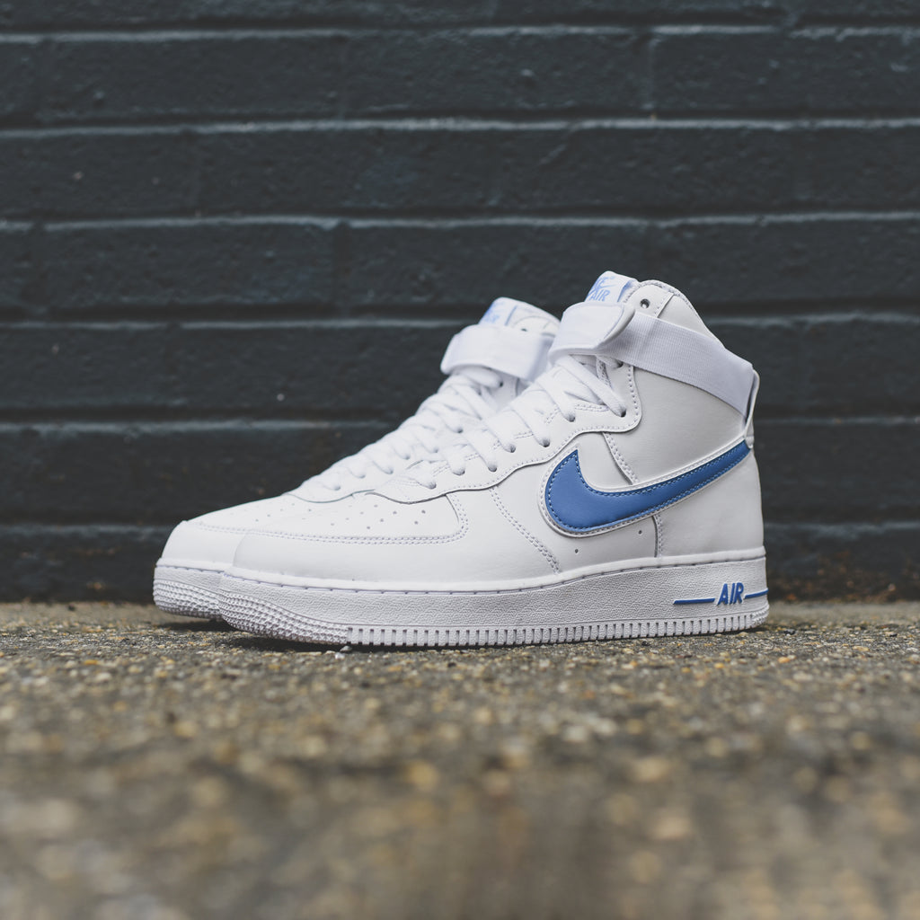 watch 71f86 980d3 Nike Air Force 1 High  07 3 - White   Photo Blue – Kith