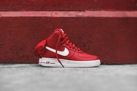 Nike Air Force 1 Hi '07 - Gym Red