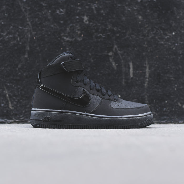 Nike Grade School Air Force 1 High - Black